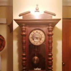 Relojes de pared: ANTIGUO RELOJ DE PARED CON SONERÍA.. Lote 190395027