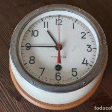 Relojes de pared: RELOJ DE BARCO SOVIÉTICO - RUSO - URSS. Lote 190334601