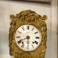 Relojes de pared: RELOJ MOREZ PENDULO REAL. Lote 191134618