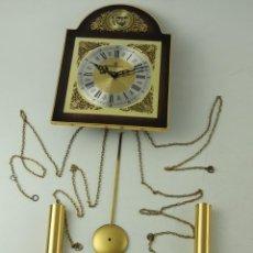 Relojes de pared: PRECIOSO RELOJ DE PARED TEMPUS FUGIT. Lote 191137043