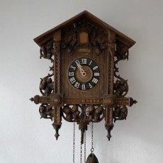 Relojes de pared: RELOJ CUCO SELVA NEGRA ALEMAN PRINCIPIO SIGLO XIX. Lote 191341708