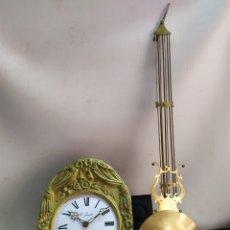 Relojes de pared: ESPECTACULAR RELOJ MOREZ DE CAMPANA SIGLO XIX. Lote 191378326