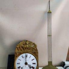 Relojes de pared: ANTIGUO RELOJ MOREZ SIGLO XIX. Lote 191379931