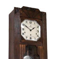 Relojes de pared: MAGNIFICO RELOJ DE PARED EN EXCELENTE ESTADO DE CONSERVACION,DE CUERDA MANUAL Y CON SONERIA. Lote 191383176