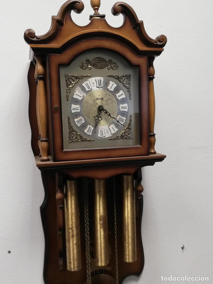 Relojes de pared: Reloj de carrillon Hersa, de pared. - Foto 3 - 191509295
