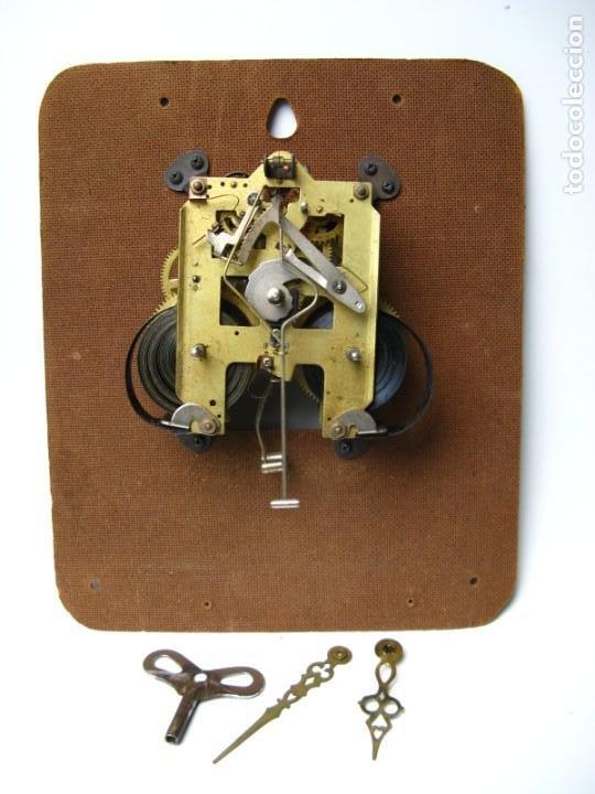 MAQUINARIA RELOJ DE PARED FUNCIONANDO (Relojes - Pared Carga Manual)
