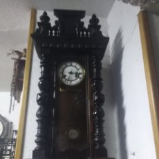Relojes de pared: RELOJ DE PARED FUNCIONANDO ALTO 95.C.T.. Lote 191996883