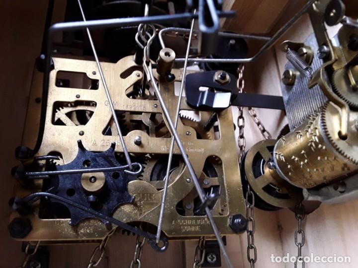 Relojes de pared: Original Reloj de Cuco Selva Negra, Autómata de Música, Figuras movibles, Años 90 - Foto 19 - 192235347
