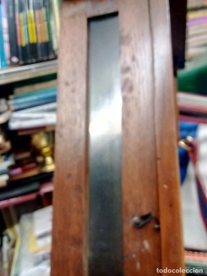 Relojes de pared: ANTIGUO RELOG DE PARED MARCA EMILIO C.BESSES BARCELONA PARA REPARAR - Foto 3 - 192354867