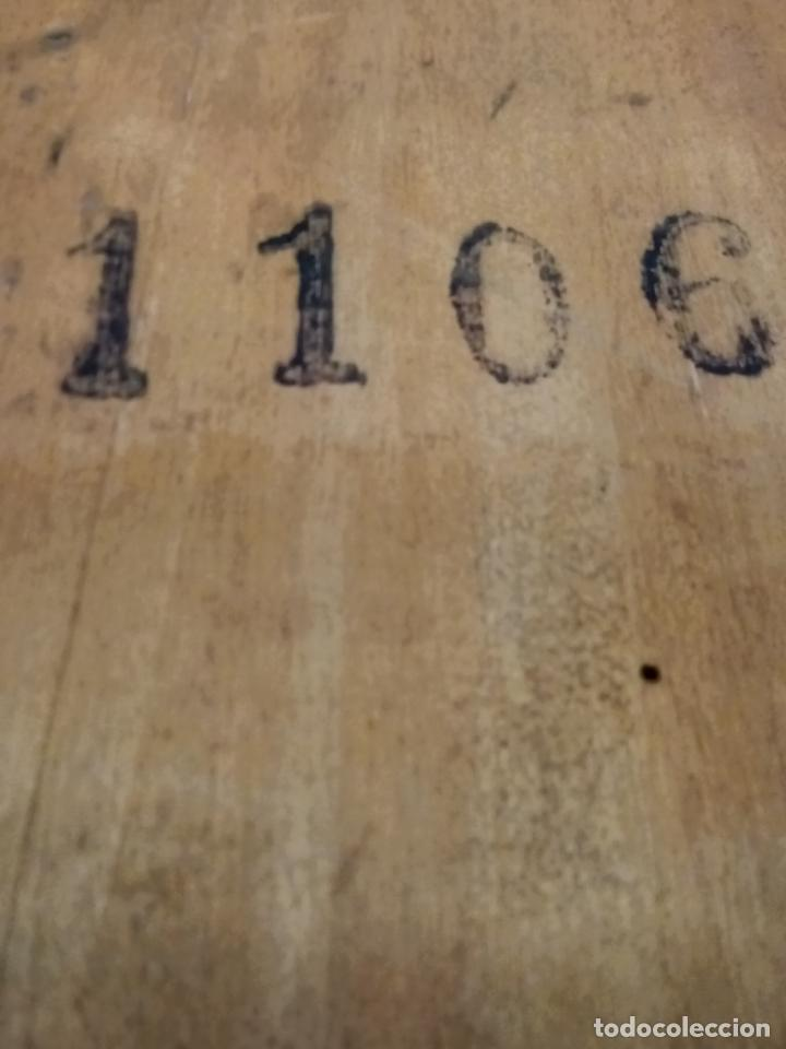 Relojes de pared: ANTIGUO RELOG DE PARED MARCA EMILIO C.BESSES BARCELONA PARA REPARAR - Foto 9 - 192354867
