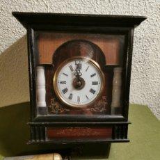 Relojes de pared: RELOJ DE PARED CON MARQUETERÍA. Lote 192488321