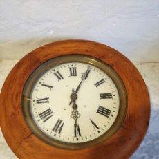Relojes de pared: ANTIGUO RELOJ DE BUEY. Lote 192696722