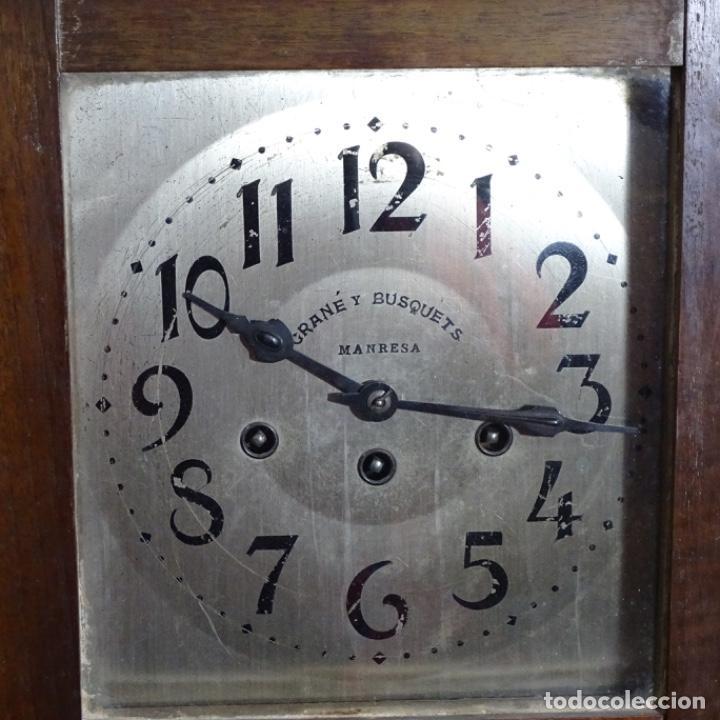 Relojes de pared: Antiguo reloj de pared grané y busquets Manresa. - Foto 2 - 192755848
