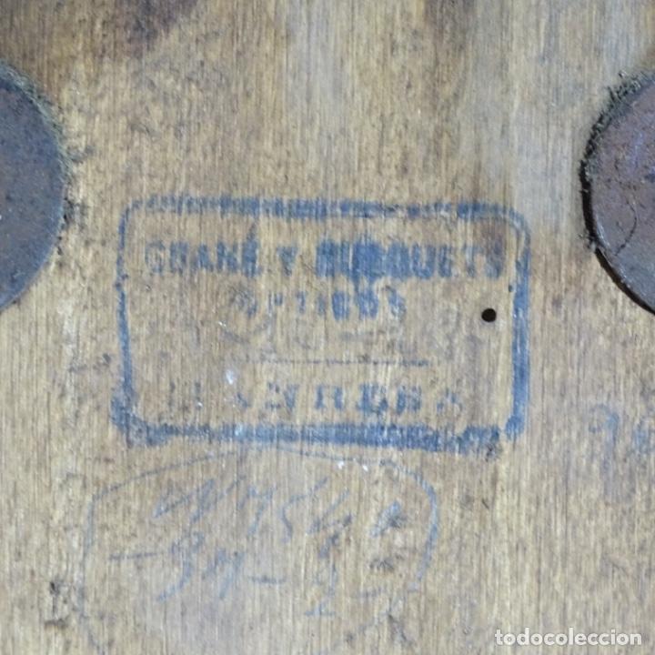 Relojes de pared: Antiguo reloj de pared grané y busquets Manresa. - Foto 7 - 192755848