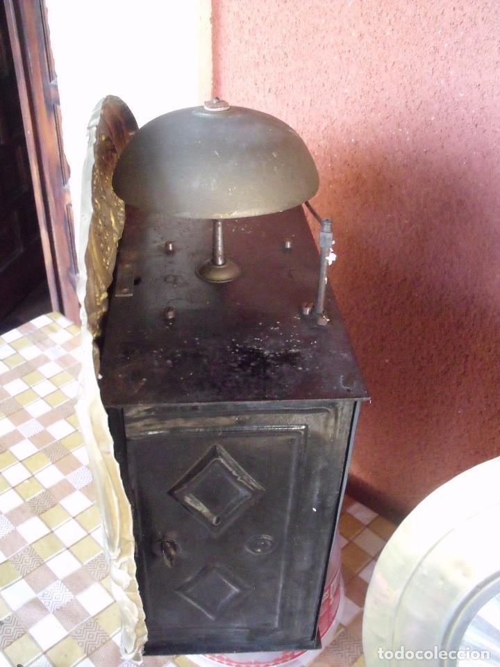 Relojes de pared: ¡¡GRAN OFERTA 149,99 €!! Antiguo RELOJ DE PESAS MOREZ -año 1880-REPITE HORAS- LOTE 145 - Foto 6 - 193684208
