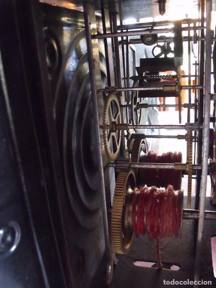 Relojes de pared: ¡¡GRAN OFERTA 149,99 €!! Antiguo RELOJ DE PESAS MOREZ -año 1880-REPITE HORAS- LOTE 145 - Foto 8 - 193684208