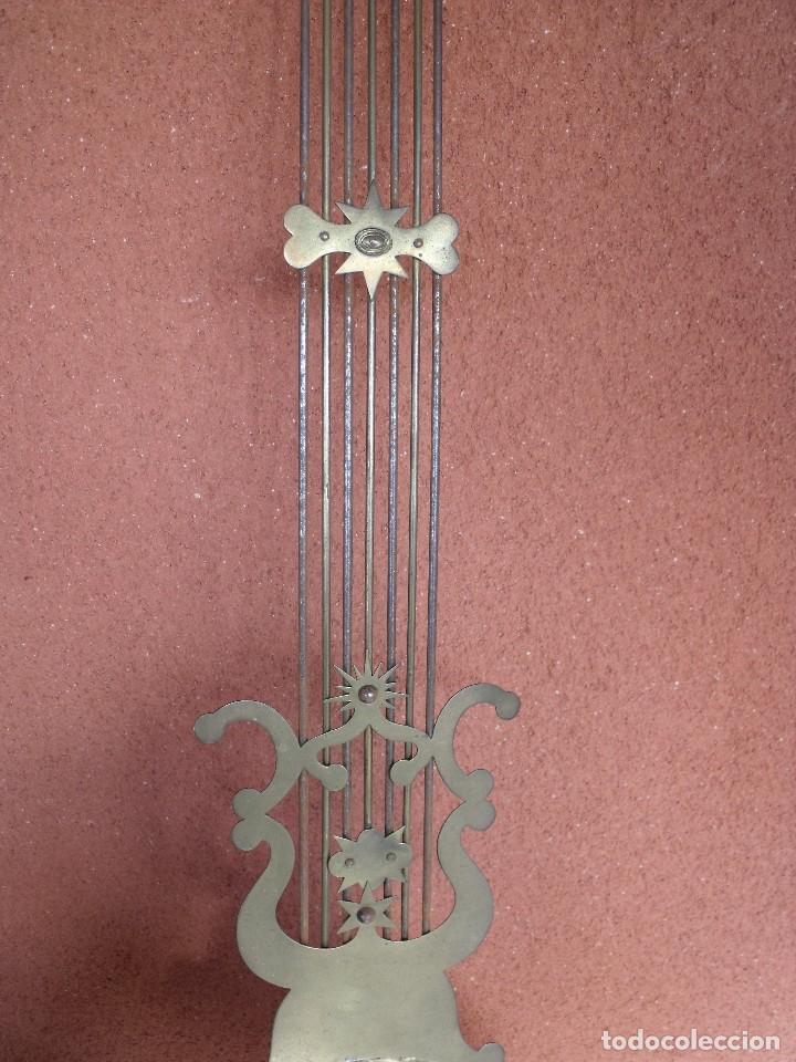 Relojes de pared: ¡¡GRAN OFERTA 149,99 €!! Antiguo RELOJ DE PESAS MOREZ -año 1880-REPITE HORAS- LOTE 145 - Foto 10 - 193684208