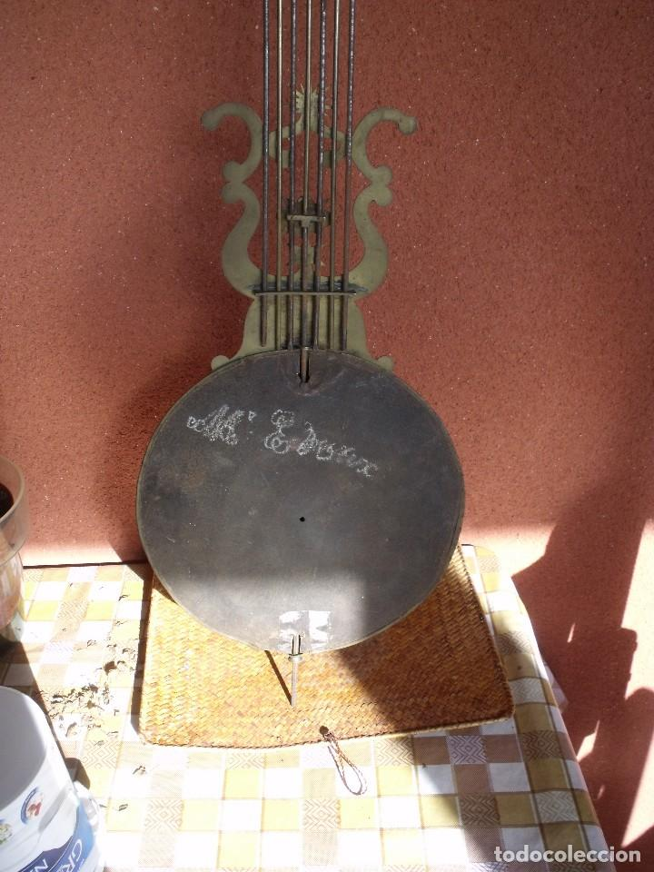 Relojes de pared: ¡¡GRAN OFERTA 149,99 €!! Antiguo RELOJ DE PESAS MOREZ -año 1880-REPITE HORAS- LOTE 145 - Foto 13 - 193684208