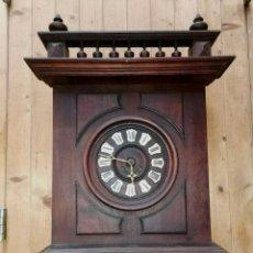 Relojes de pared: ¡¡¡GRAN OFERTA 99,99 € !!!ANTIGUO RELOJ EN NOGAL HENRI II-FRANCIA- AÑO 1890- FUNCIONA. Lote 193885221