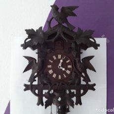 Relojes de pared: ANTIGUO Y GRAN RELOJ DE CUCO SELVA NEGRA, CIRCA 1900. Lote 194010980