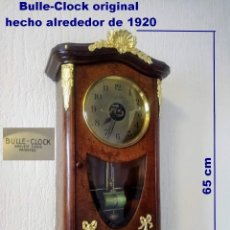 Relojes de pared: BULLE CLOCK, ELECTROMAGNÉTICO, FRANCIA 1920. Lote 194066160