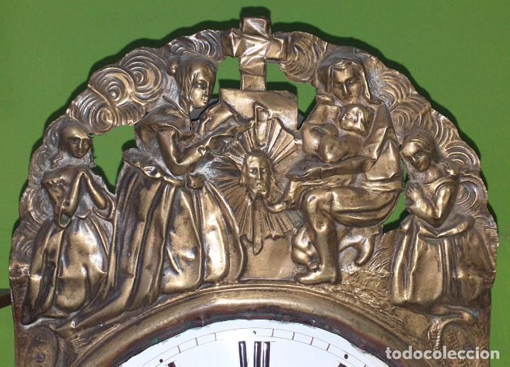 Relojes de pared: ANTIGUO RELOJ MOREZ SIGLO XIX - Foto 6 - 88100024