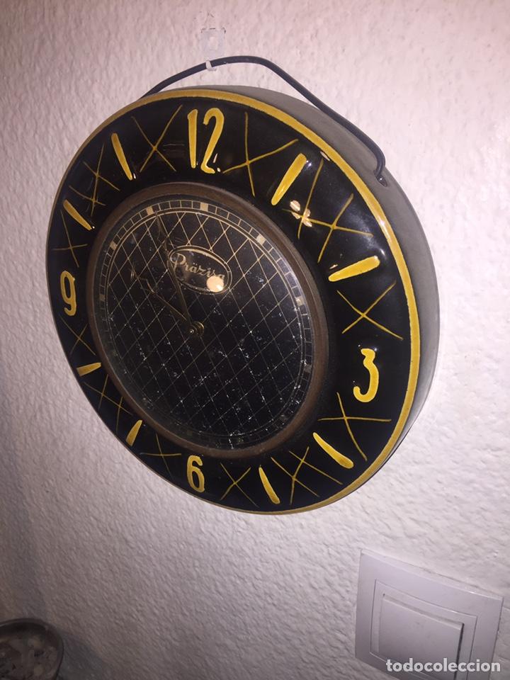RELOJ DE CUERDA PRÄZISA DE CERÁMICA (Relojes - Pared Carga Manual)