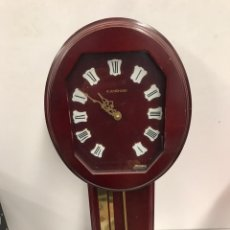 Relojes de pared: ANTIGUO RELOJ JUNGHANS DE PARED. Lote 194198008