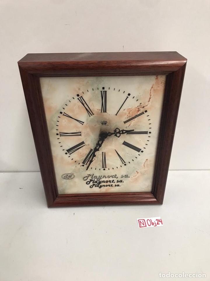 RELOJ CON PUBLICIDAD (Relojes - Pared Carga Manual)