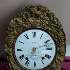 Relojes de pared: PRECIOSO RELOJ MOREZ. Lote 194215960