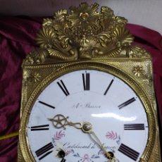 Relojes de pared: PRECIOSO RELOJ MOREZ. Lote 194216743