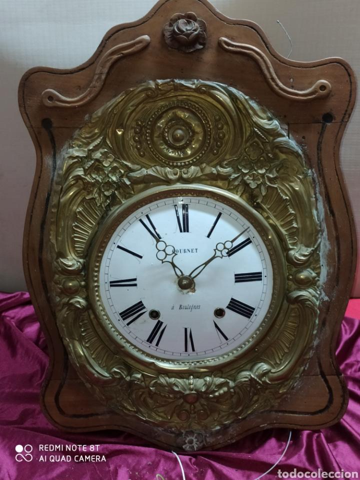 PRECIOSO RELOJ MOREZ (Relojes - Pared Carga Manual)