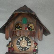 Relojes de pared: ANTIGUO RELOJ DE CUCO MUSICAL SELVA NEGRA. Lote 194281295