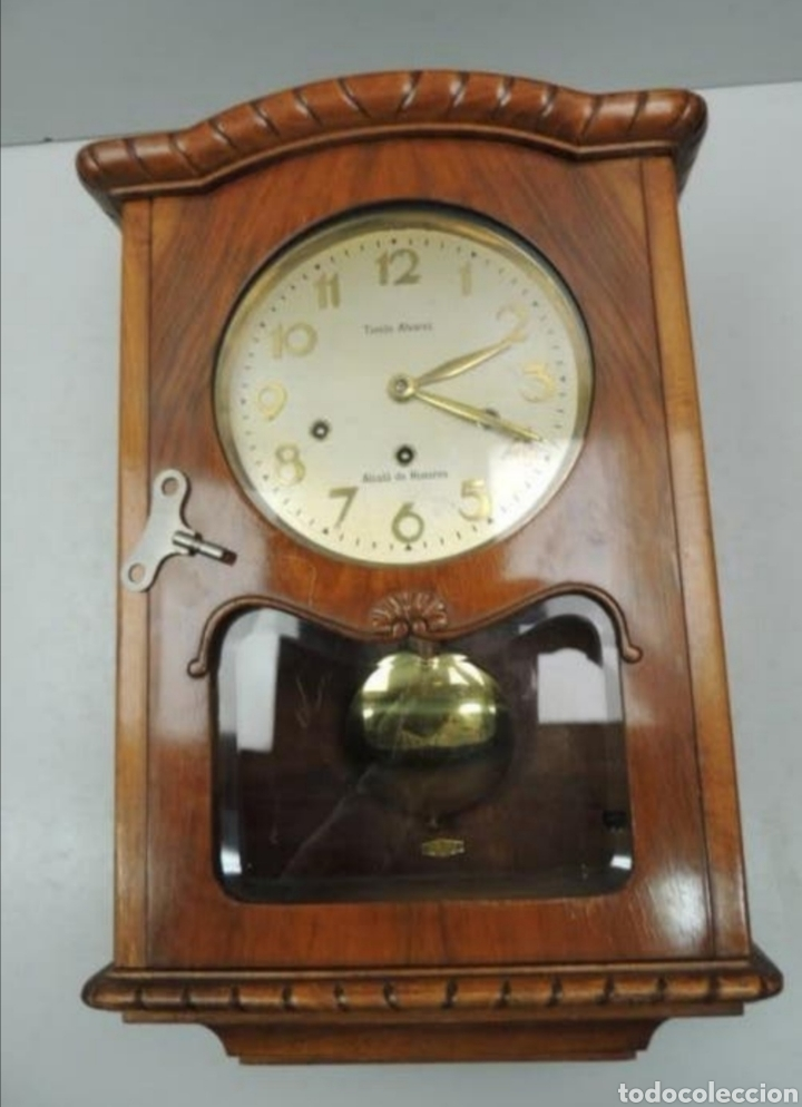 RELOJ TRES CARRILLONES (Relojes - Pared Carga Manual)