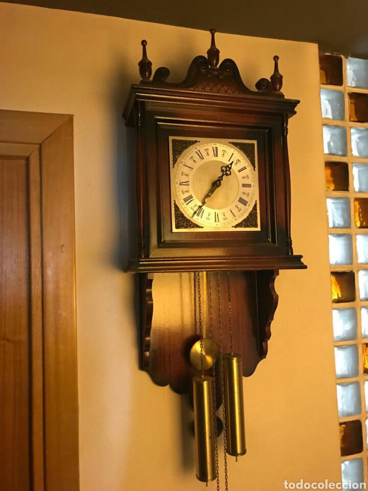 Relojes de pared: Reloj pared pesas con soneria - Foto 2 - 194296168