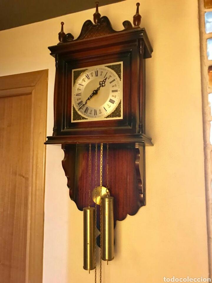 RELOJ PARED PESAS CON SONERIA (Relojes - Pared Carga Manual)
