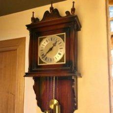 Relojes de pared: RELOJ PARED PESAS CON SONERIA. Lote 194296168