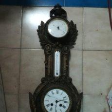 Relojes de pared: RELOJ DE HIERRO COLADO. Lote 194300806