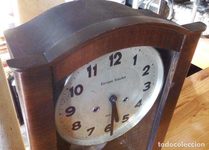 Relojes de pared: RELOJ DE PARED ART DECÓ - Foto 2 - 194323993