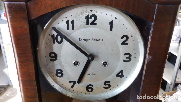Relojes de pared: RELOJ DE PARED ART DECÓ - Foto 4 - 194323993