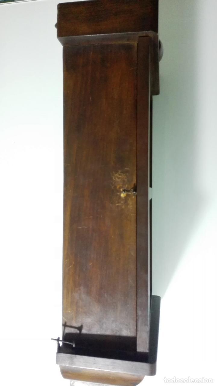 Relojes de pared: RELOJ PARED DE MADERA, A CUERDA, CON PENDULO, MEDIDA 60 X 28 X 15 CM - Foto 6 - 194326427