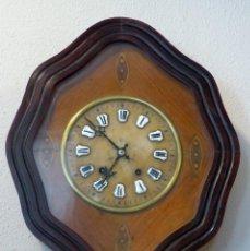 Relojes de pared: RELOJ DE MEDIADOS DEL SIGLO XIX . Lote 194385960