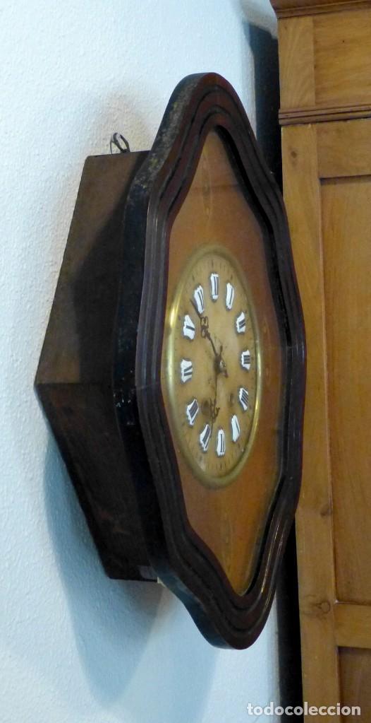 Relojes de pared: Reloj de mediados del Siglo XIX - Foto 2 - 194385960
