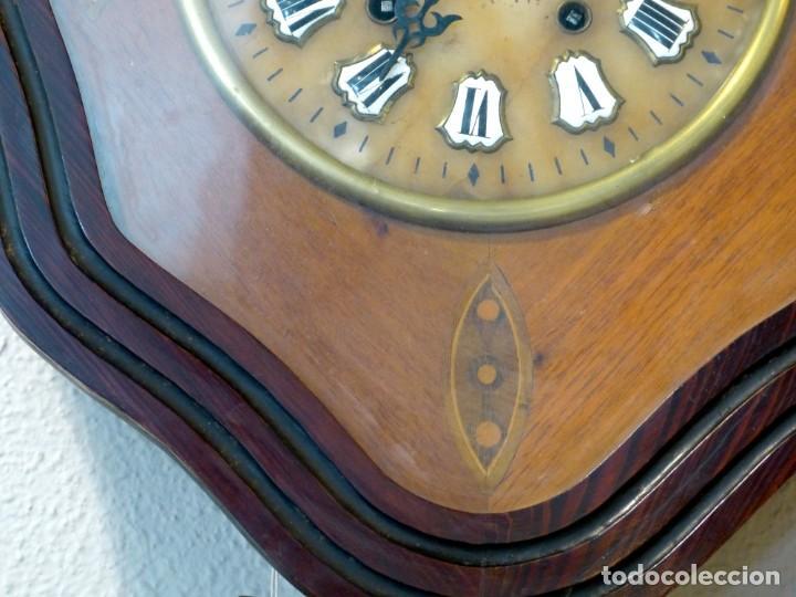 Relojes de pared: Reloj de mediados del Siglo XIX - Foto 3 - 194385960
