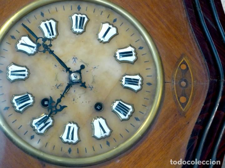 Relojes de pared: Reloj de mediados del Siglo XIX - Foto 4 - 194385960