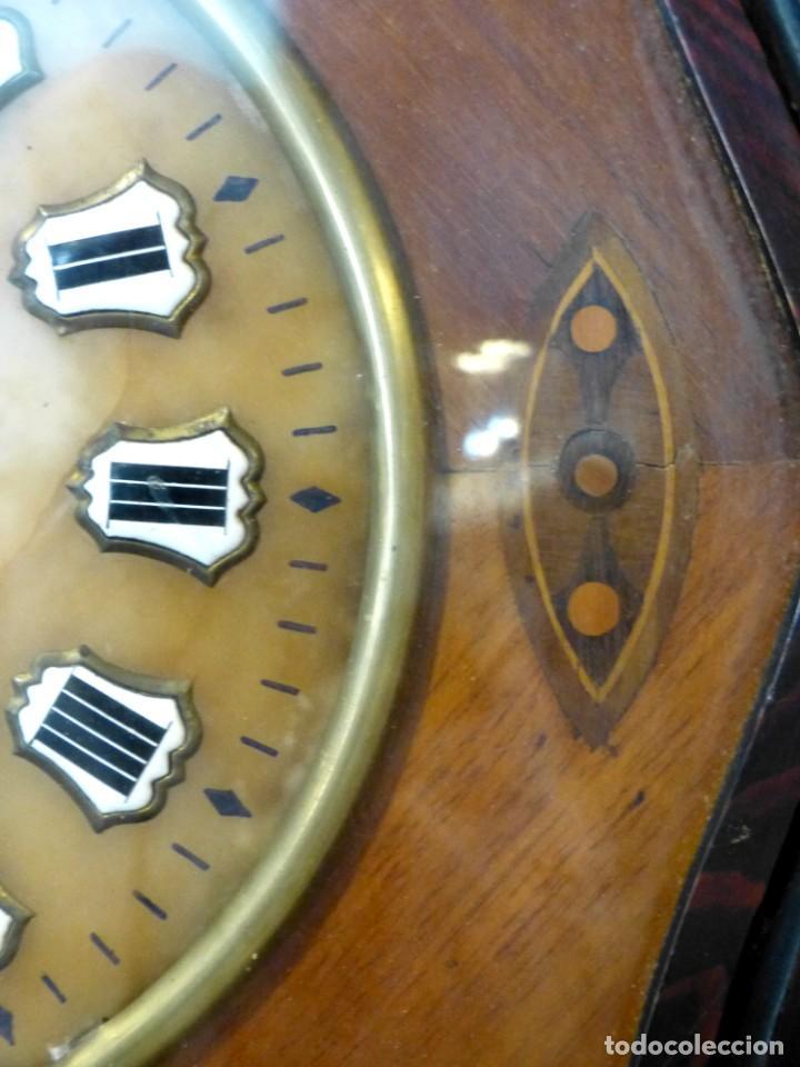 Relojes de pared: Reloj de mediados del Siglo XIX - Foto 5 - 194385960
