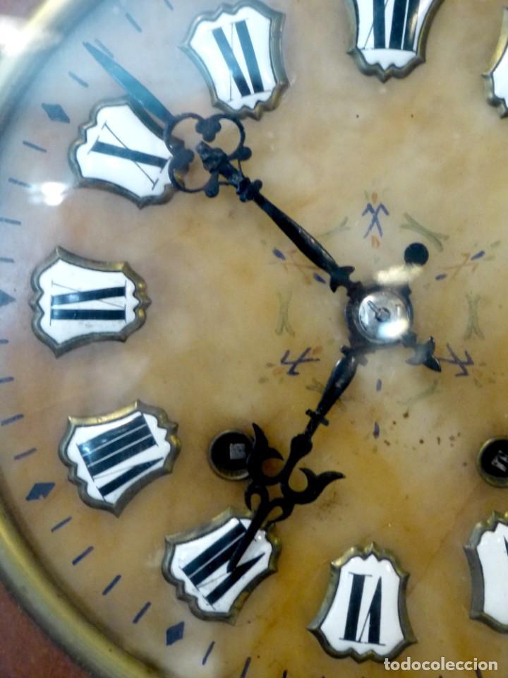 Relojes de pared: Reloj de mediados del Siglo XIX - Foto 6 - 194385960
