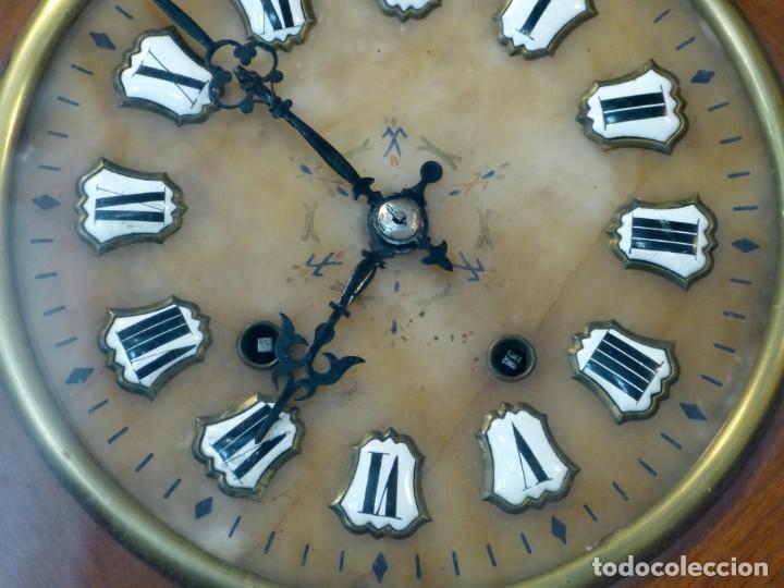 Relojes de pared: Reloj de mediados del Siglo XIX - Foto 7 - 194385960