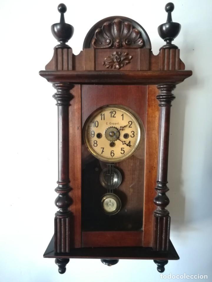 RELOJ PARED COPPEL CARGA MANUAL (Relojes - Pared Carga Manual)