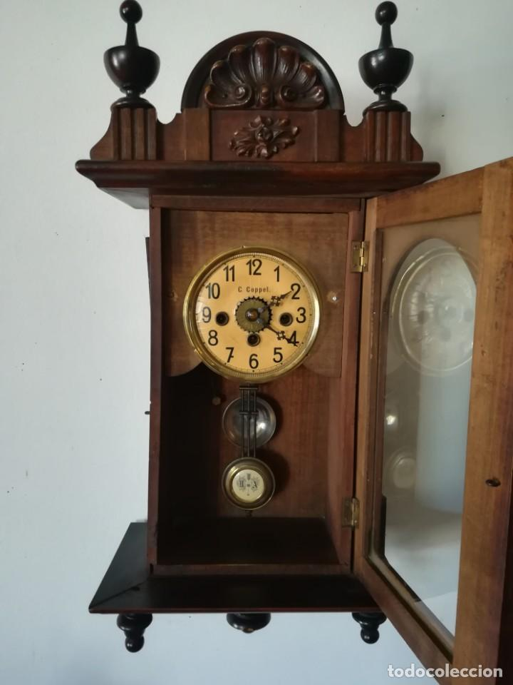 Relojes de pared: RELOJ PARED COPPEL CARGA MANUAL - Foto 2 - 194491440